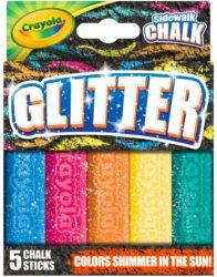 Glitter Sidewalkchalk