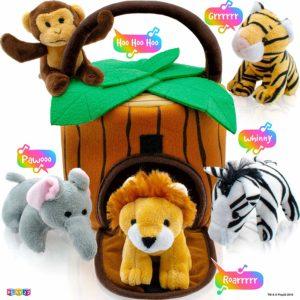 Jungle themed Easter Basket