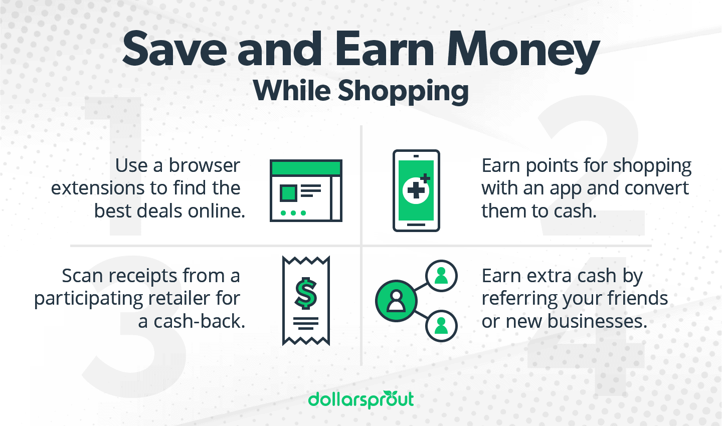 Save and Earn Money While Shopping