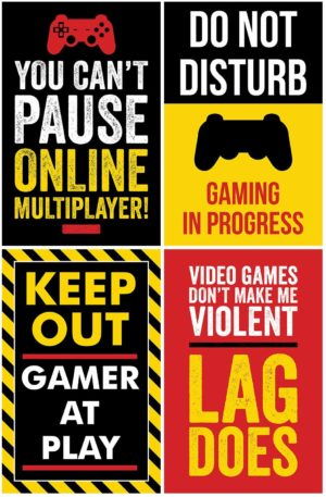 Video Gaming Posters