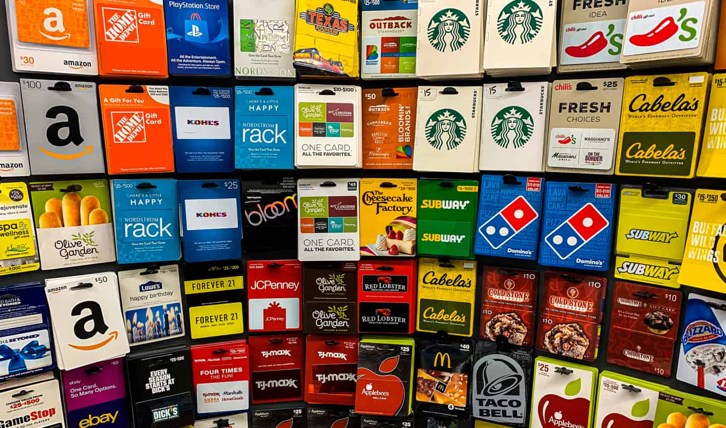 10 Places To Buy Discounted Gift Cards And Save Tons Of Money