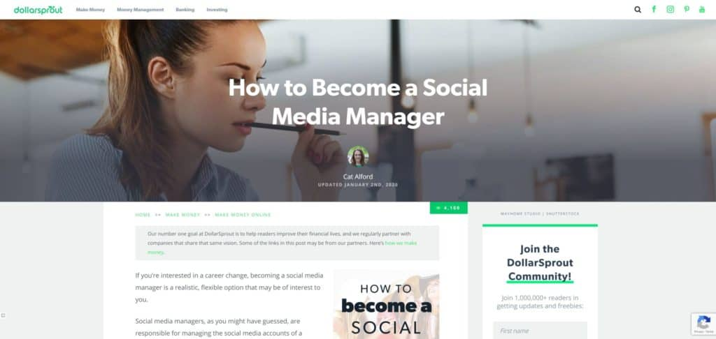 how to become a social media manager guide