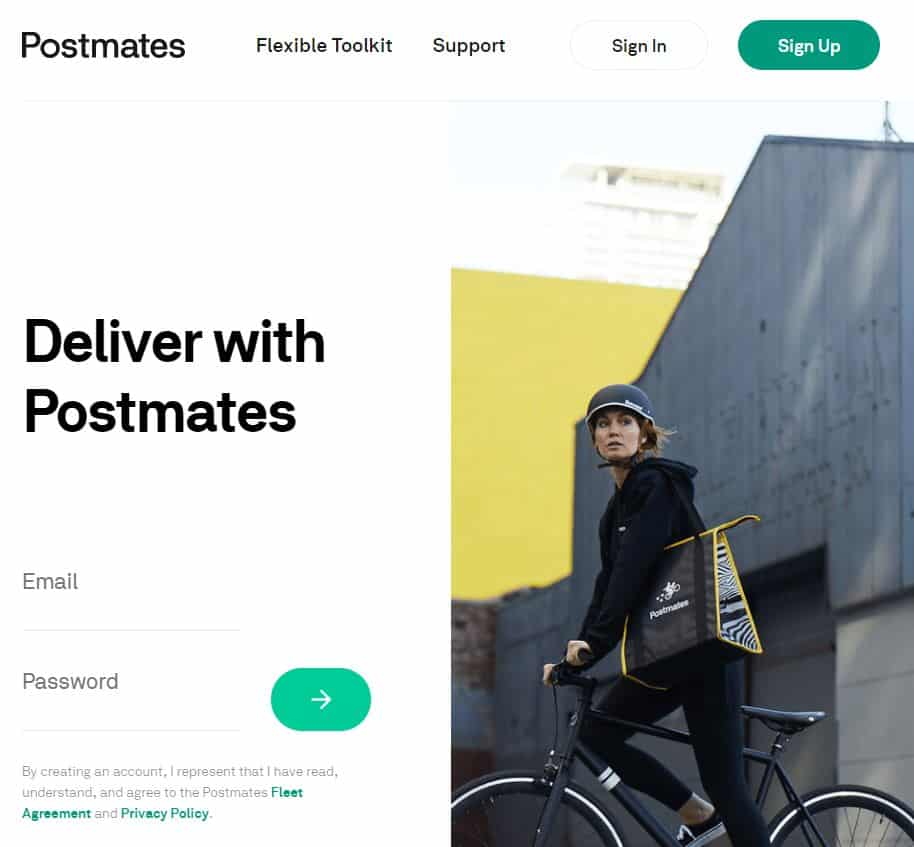 Postmates screenshot