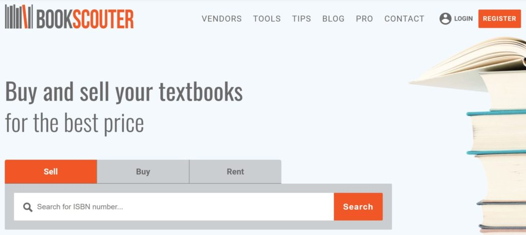 bookscouter homepage