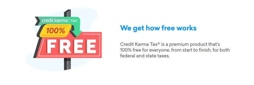 Credit Karma now offers completely free tax filing