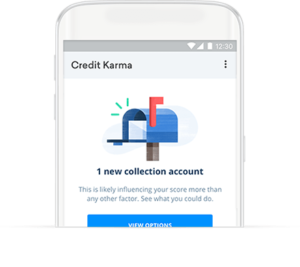 Free credit monitoring from Credit Karma