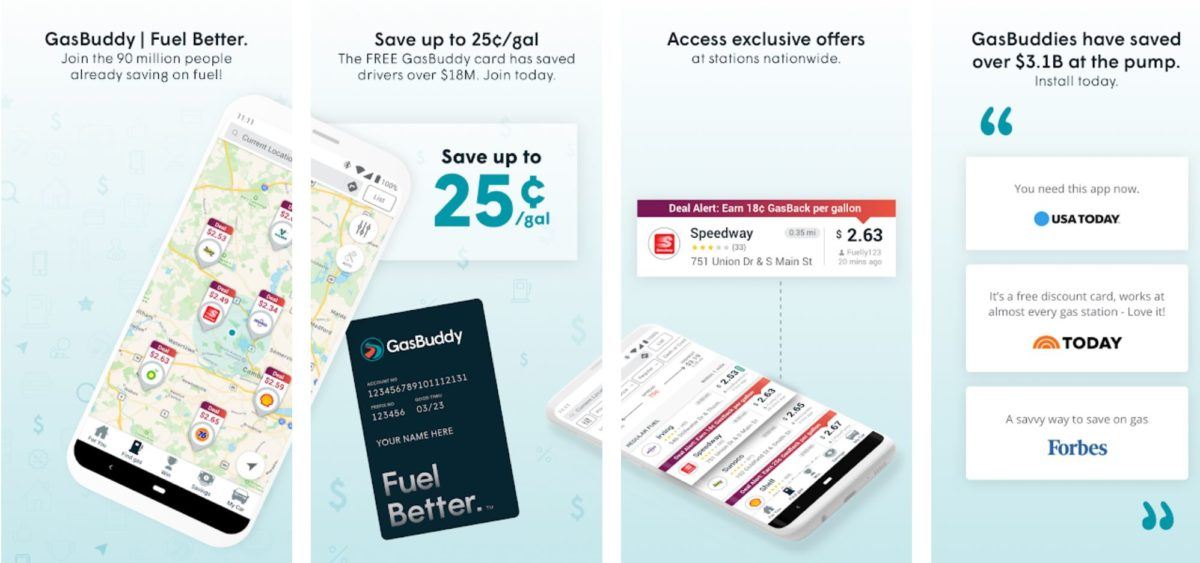 find cheap gas near me with the gasbuddy