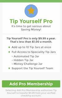 tip yourself pro features