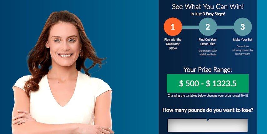 HealthyWage Prize Calculator