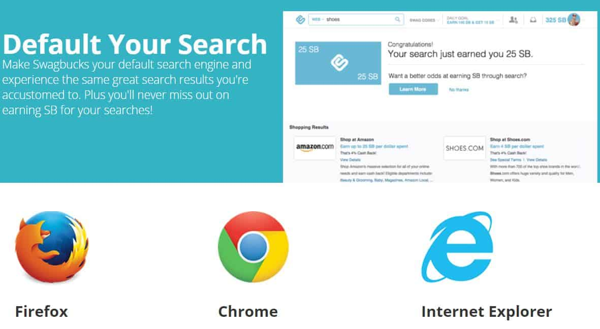 Swagbucks Default Your Search
