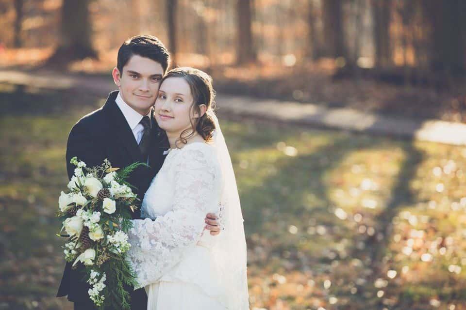 Kyle and Adrian Hildebrand Wedding Photo