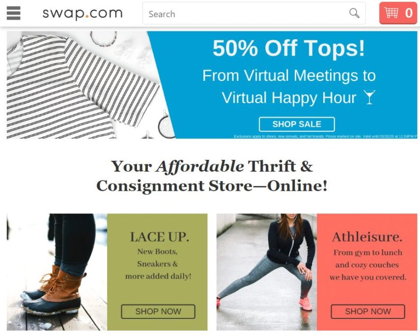 swap.com homepage