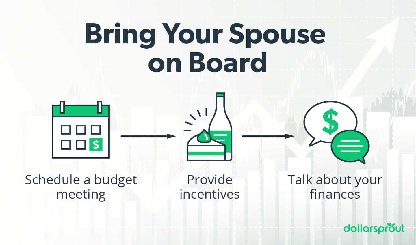 bring your spouse on board with paying off debt