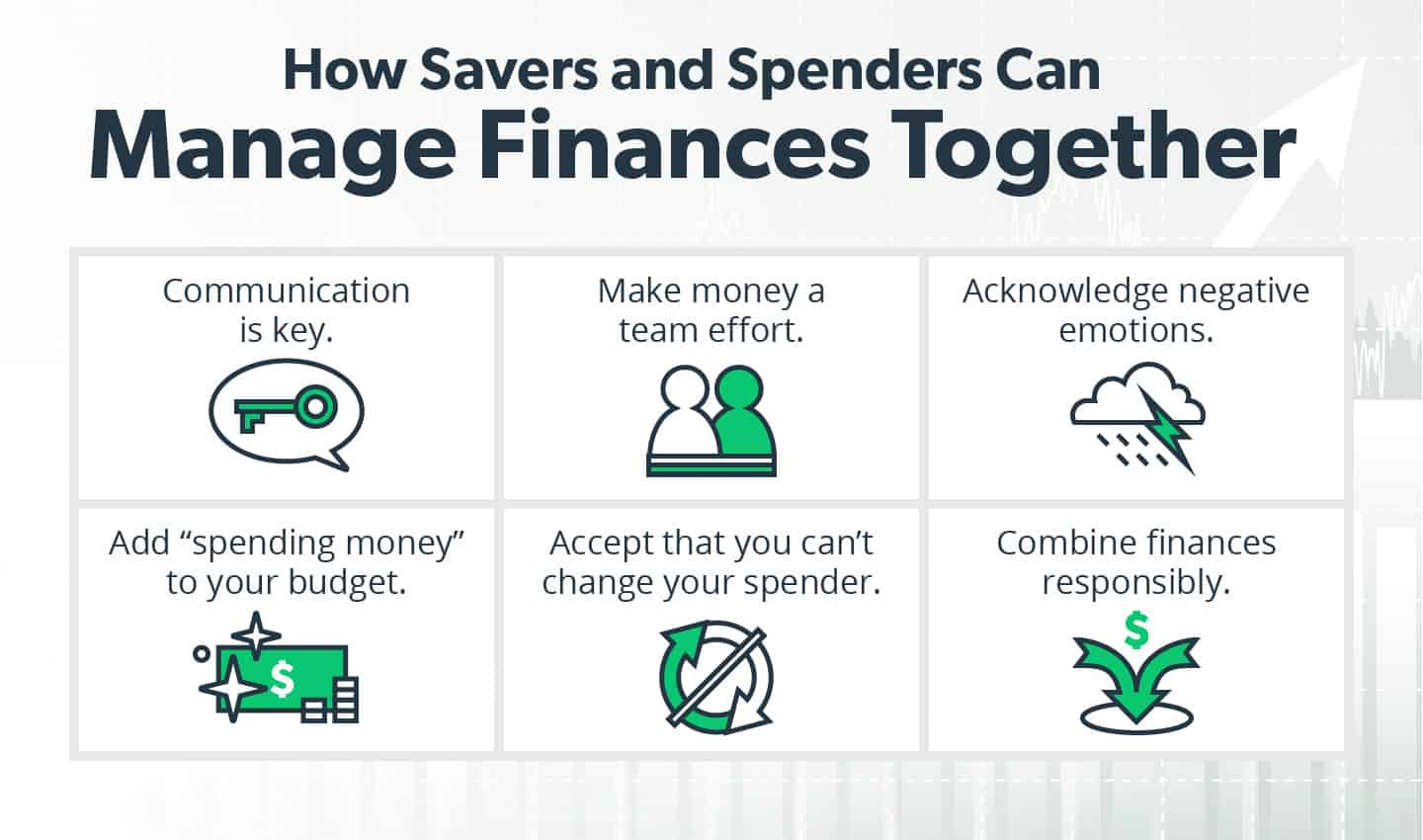How spenders and savers can manage finances together