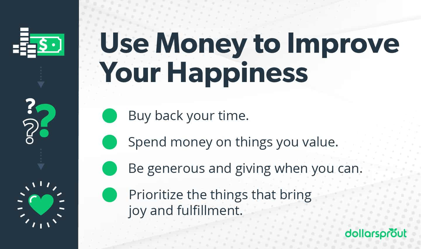 use money to improve happiness