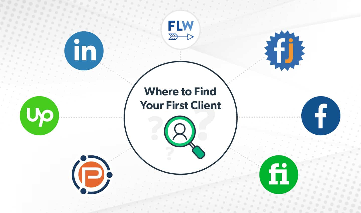 Where to find your first client
