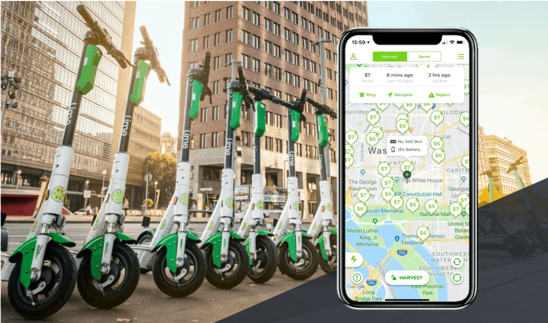 Become a Lime Juicer and get paid to charge Lime scooters