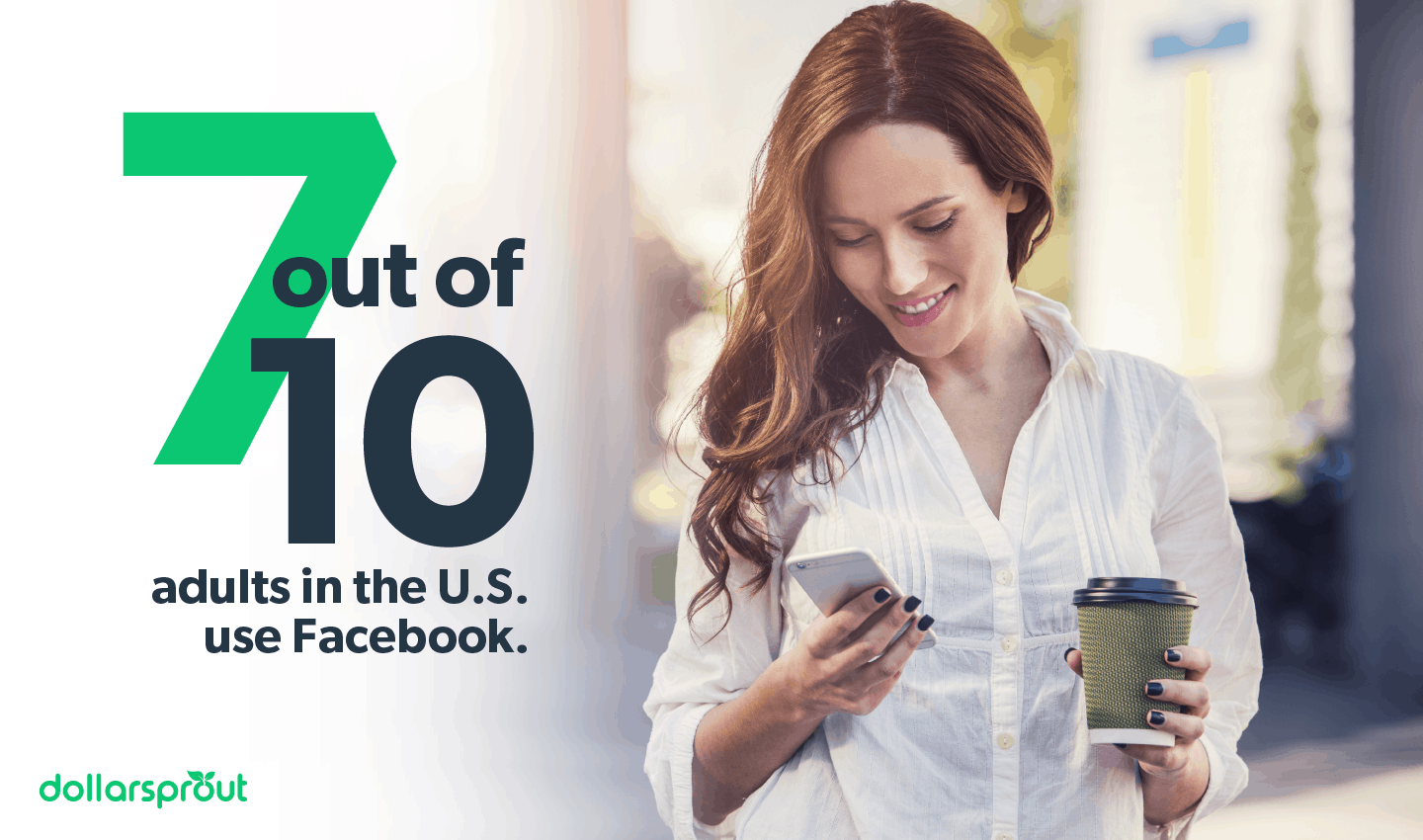 7 out of 10 adults in the U.S. use Facebook