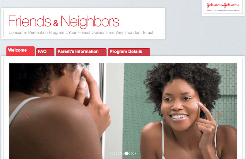 JJ Friends and Neighbors Homepage
