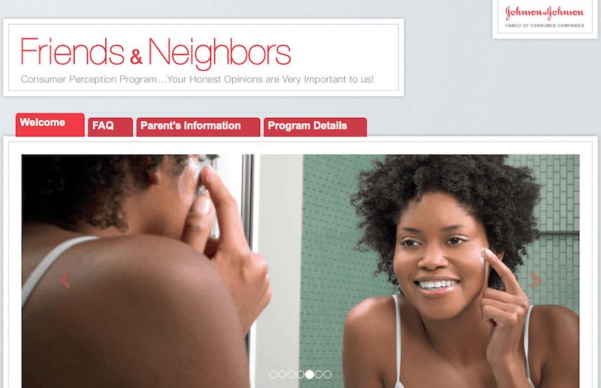 JJ Friend and Neighbors Homepage
