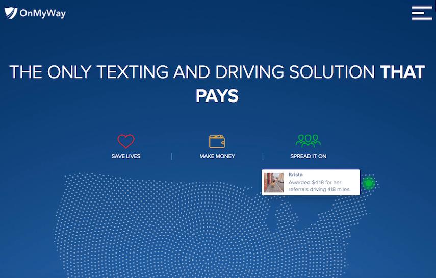 OnMyWay Homepage