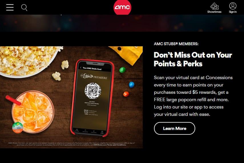 AMC rewards