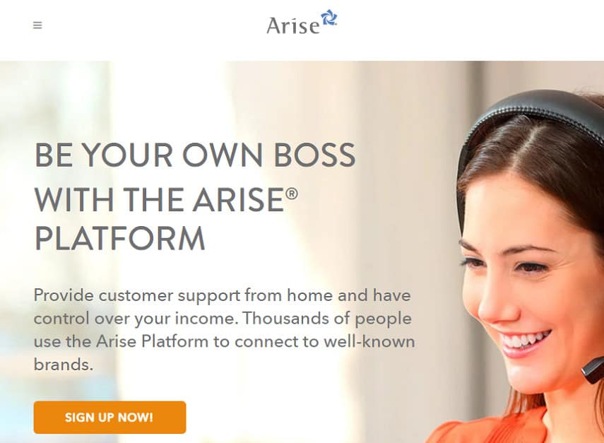 Arise careers page