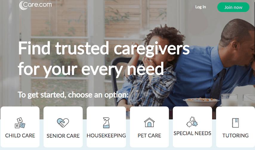 Care.com Homepage