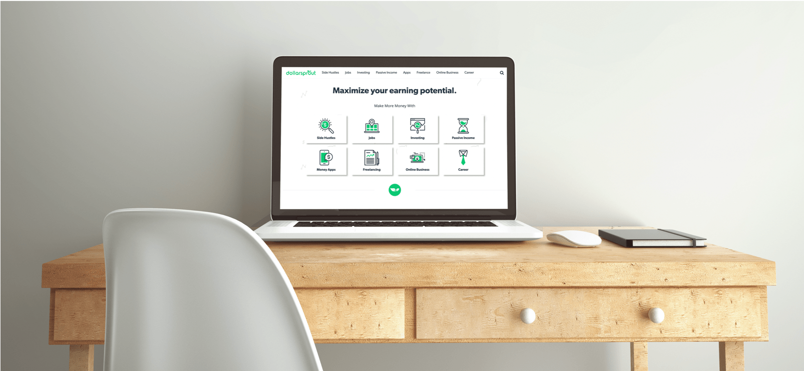 DollarSprout mockup