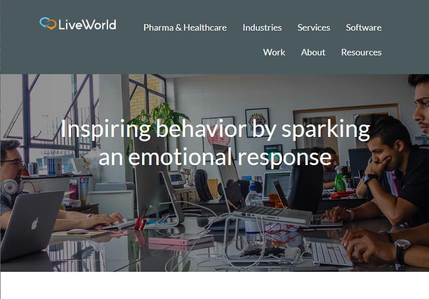 LiveWorld careers page