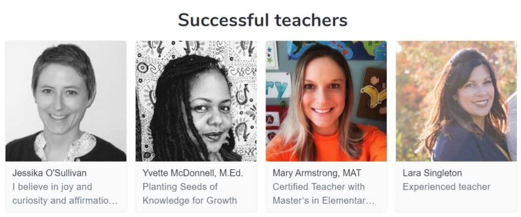 Outschool successful teachers