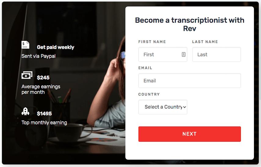 Rev Homepage