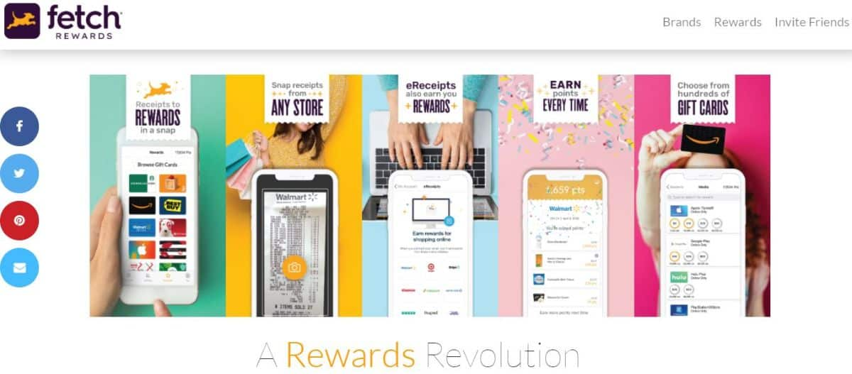 Fetch Rewards app screenshot