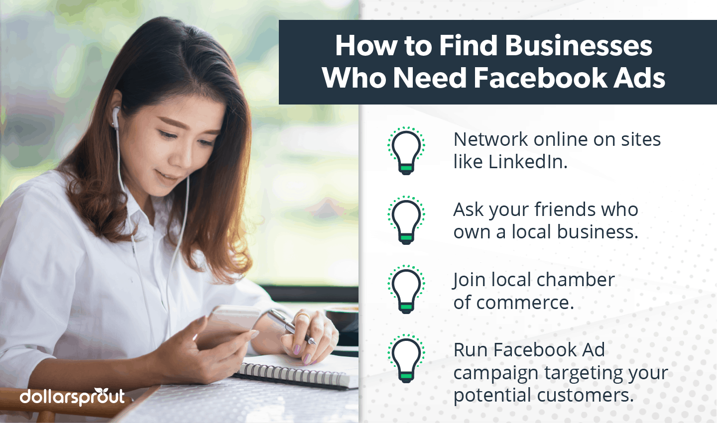 Find businesses who need Facebook ads