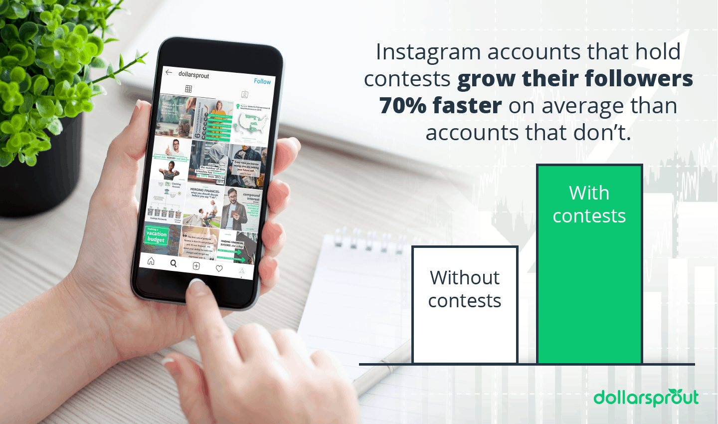Instagram contest to grow followers