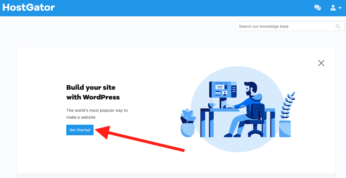 HostGator Build with WordPress