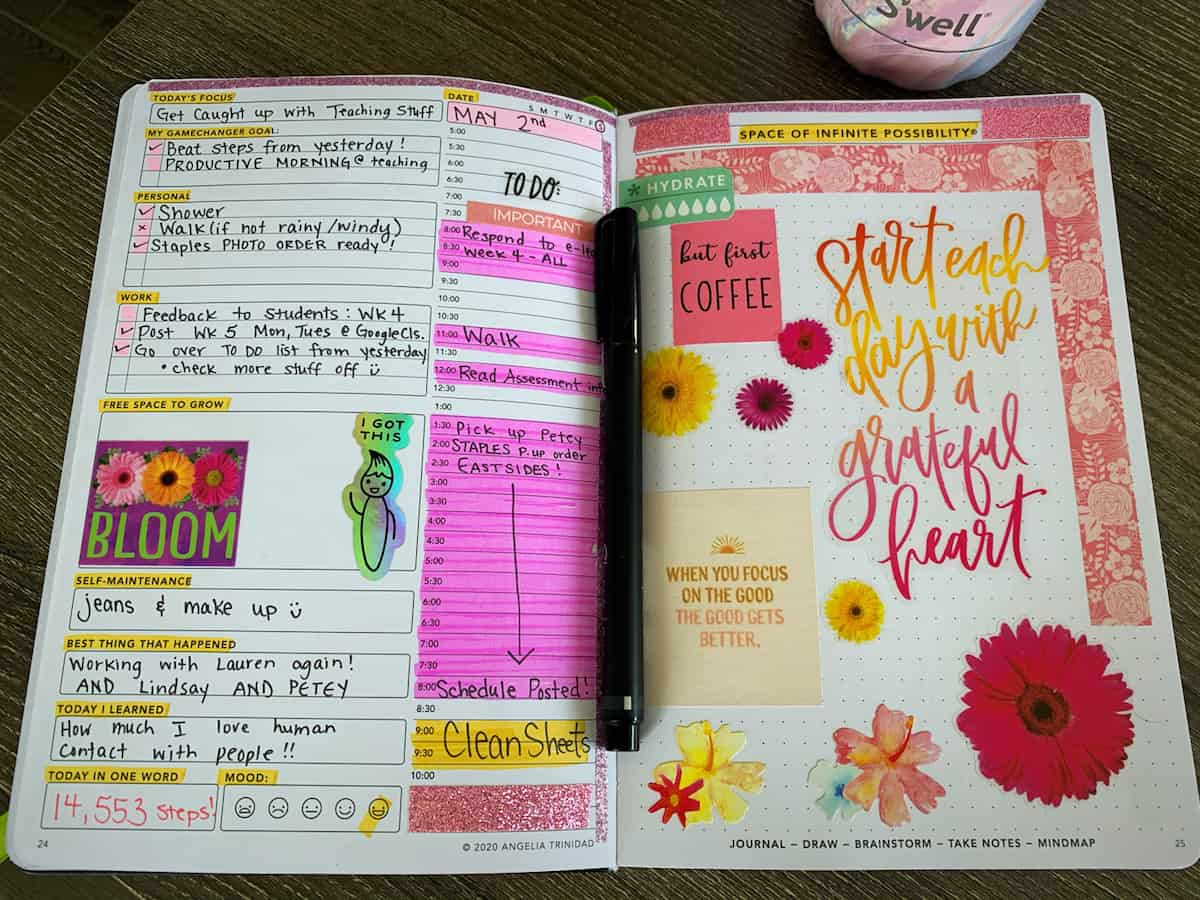 Passion Planner user review image