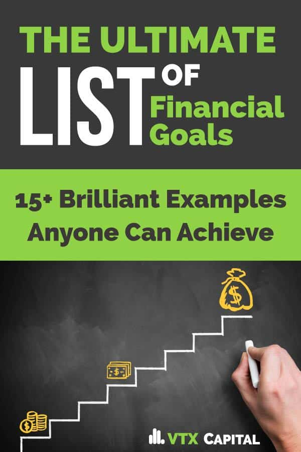 Tired of struggling with money problems? Money issues causing strain in your relationships with friends and family? Say enough and checkout this list of financial goals you can set to get back on track!