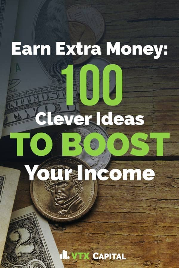 A list of 100+ clever ways anyone can earn extra money