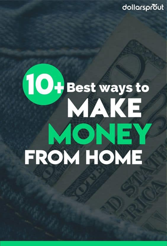 Make money at home with this list of 10 awesome ways to earn up to $1,000 each month.